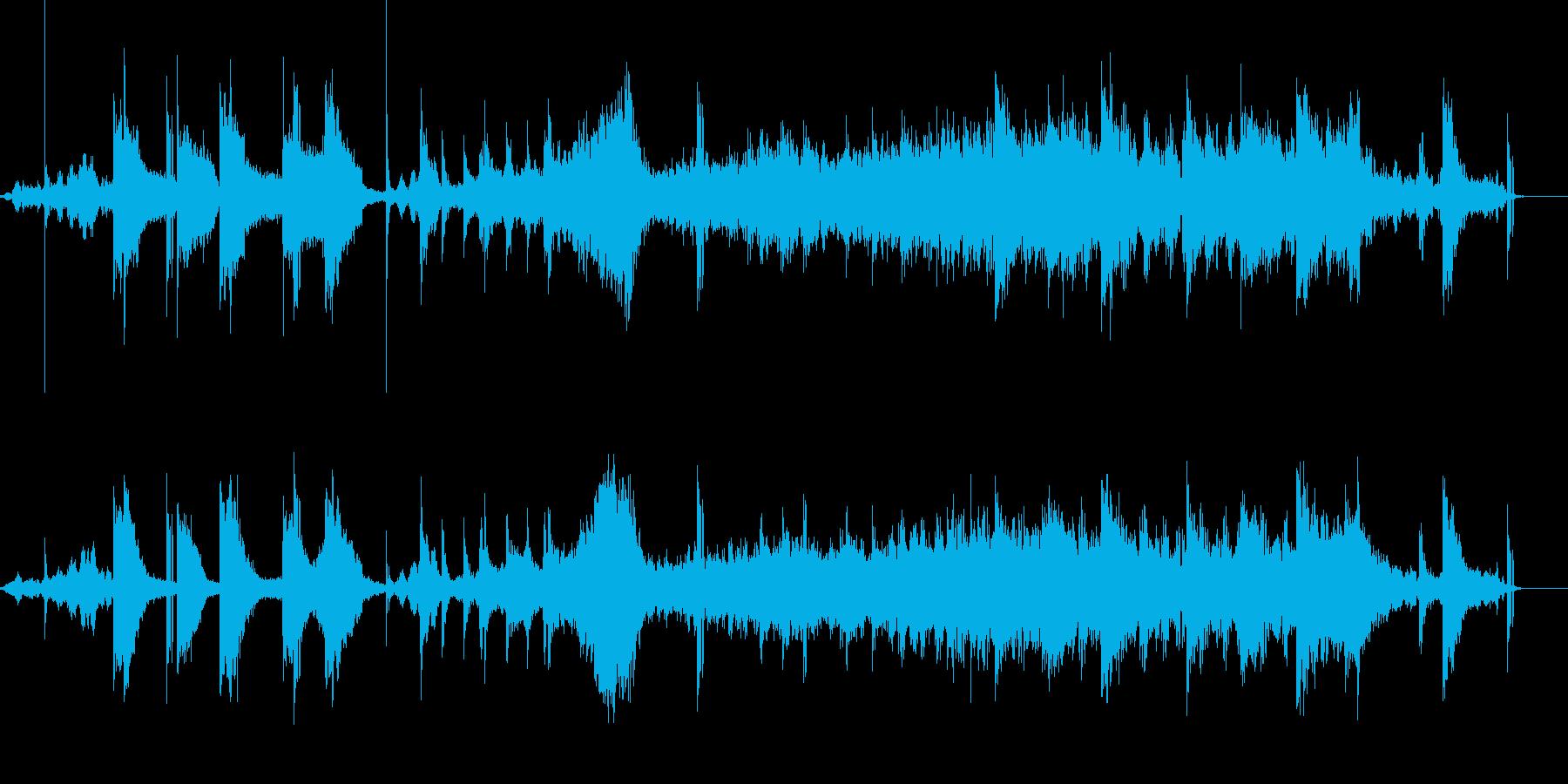 シネマティックトレーラーの再生済みの波形