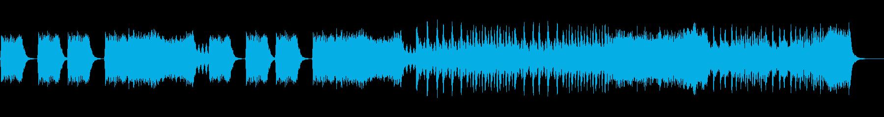 緊迫感のある弦楽曲です。の再生済みの波形