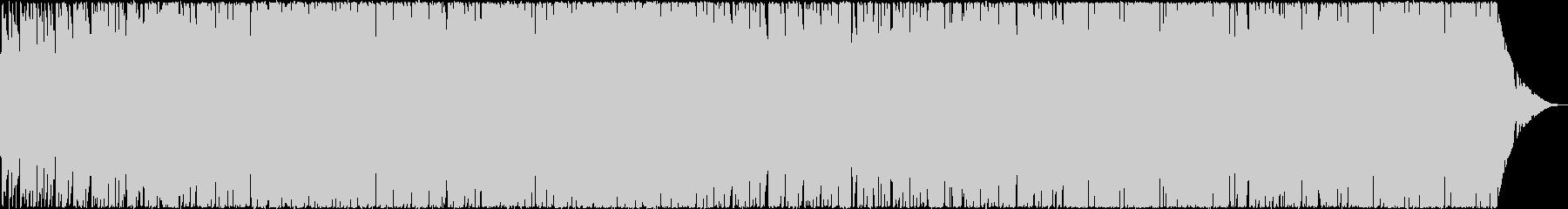 ピアノとストリングスとシンセの戯れの未再生の波形