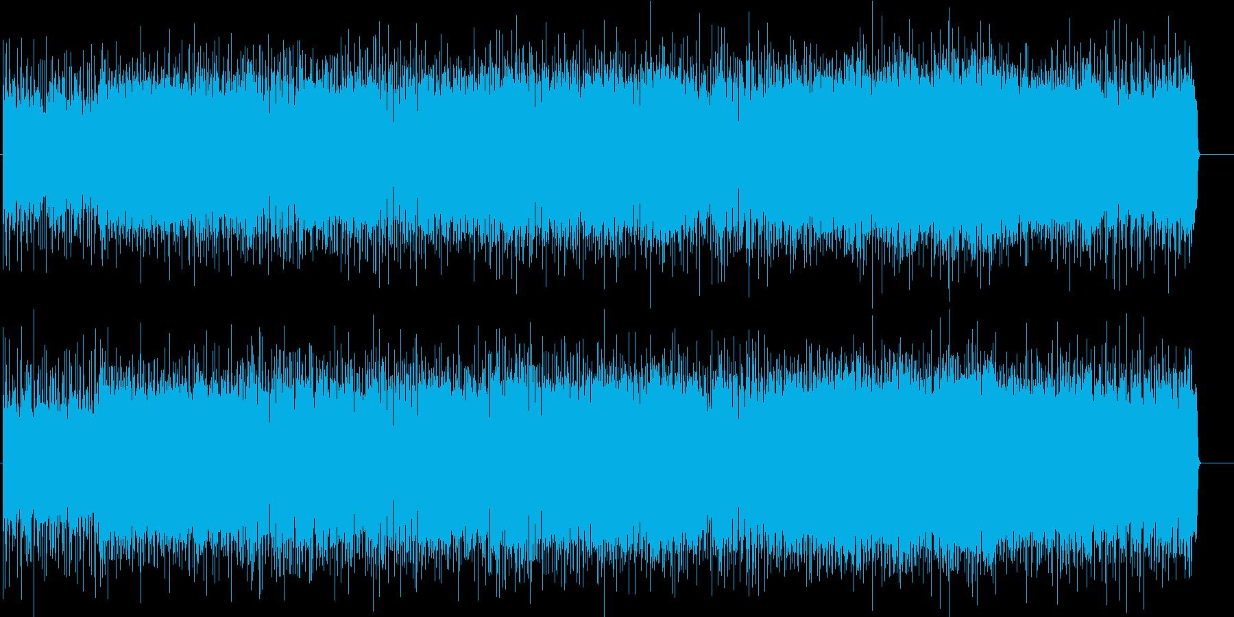 ラフで爽快なアメリカン・ロックの再生済みの波形