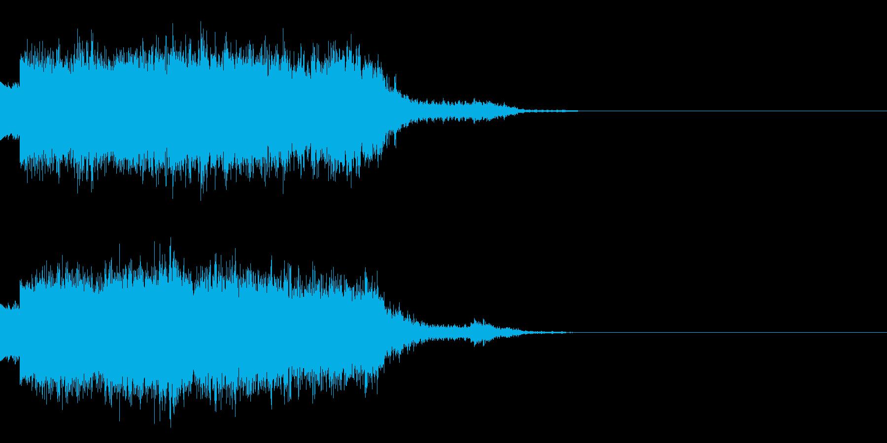 シュワーン(魔法エフェクト発動)の再生済みの波形