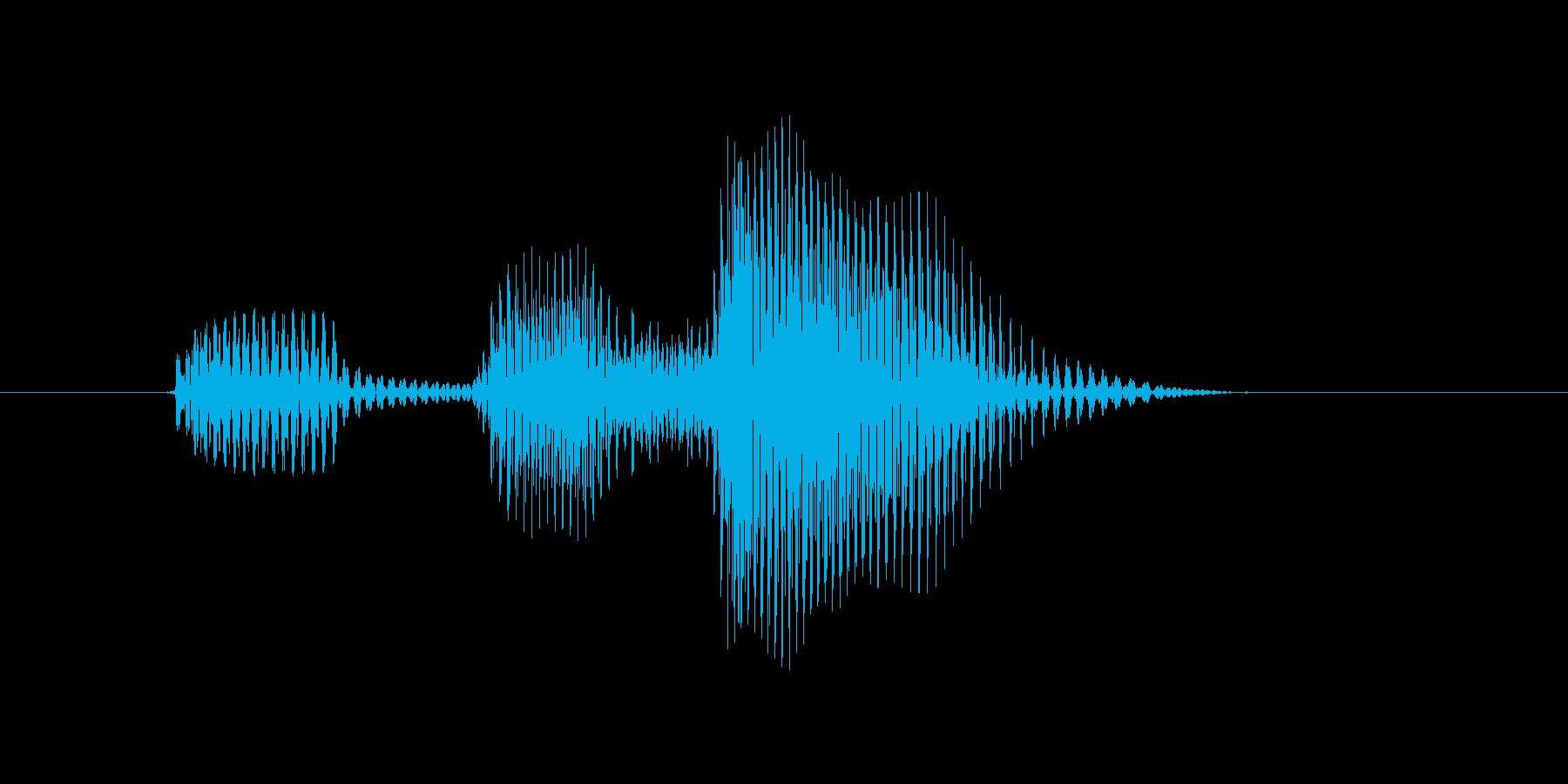 デッドゾーンの再生済みの波形