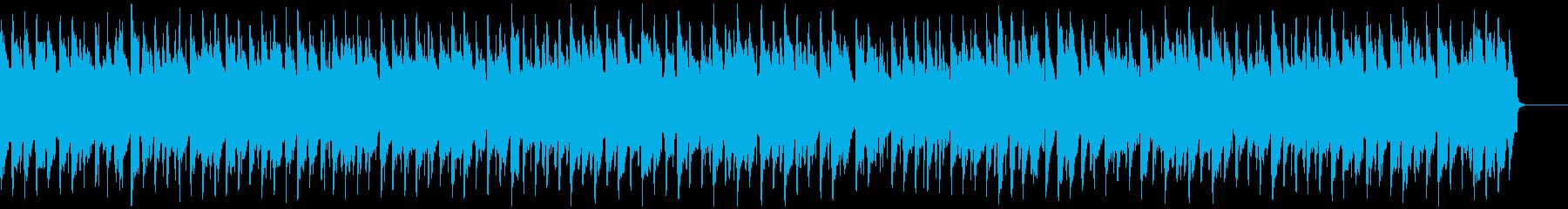 表彰式の定番 ヘンデル リズムとメロ抜きの再生済みの波形