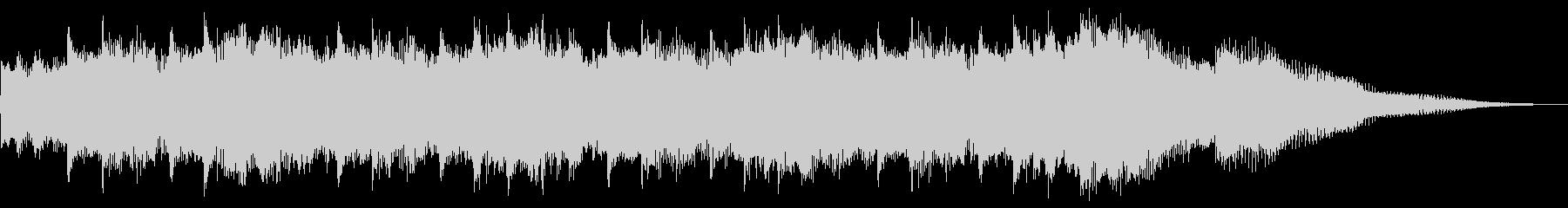 シンセのリフレイン(ロゴ/ジングル)の未再生の波形