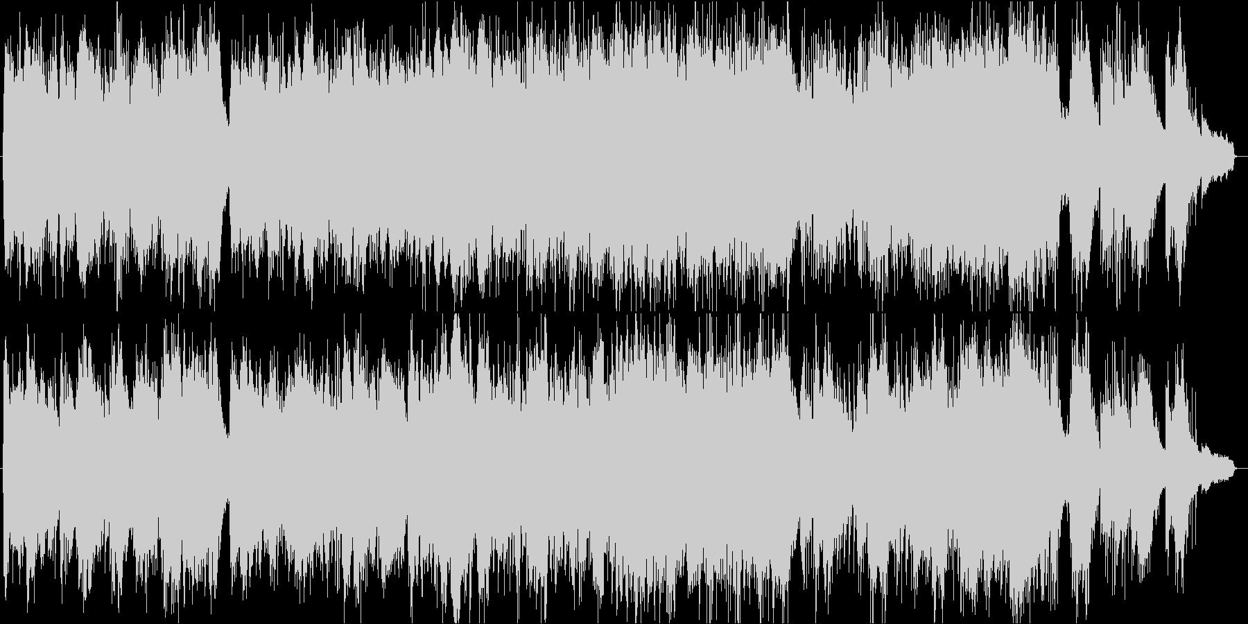 生の二胡の演奏が素敵なアジア風のBGMの未再生の波形