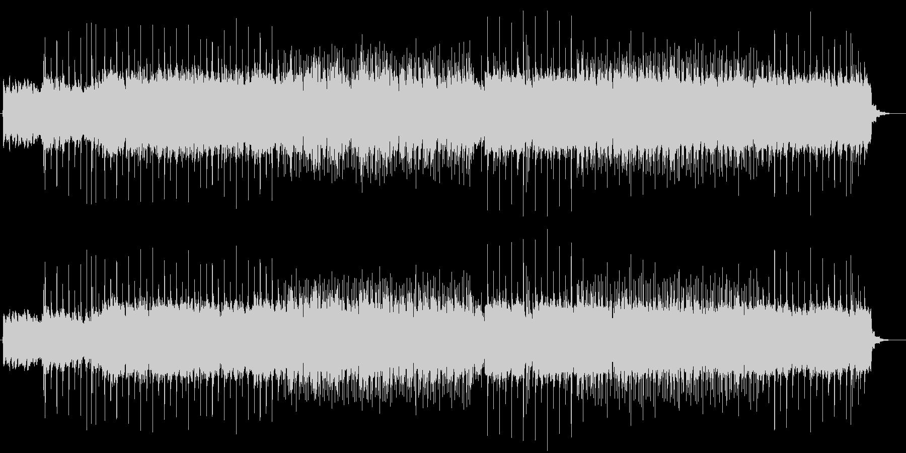 リフがクールなロックギター曲の未再生の波形