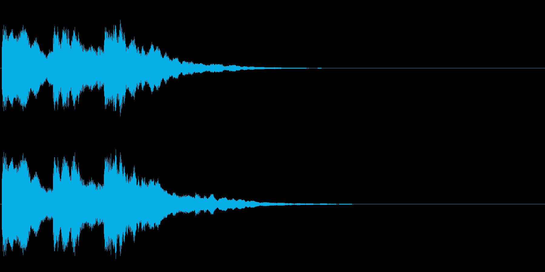 ピンポンパンの再生済みの波形