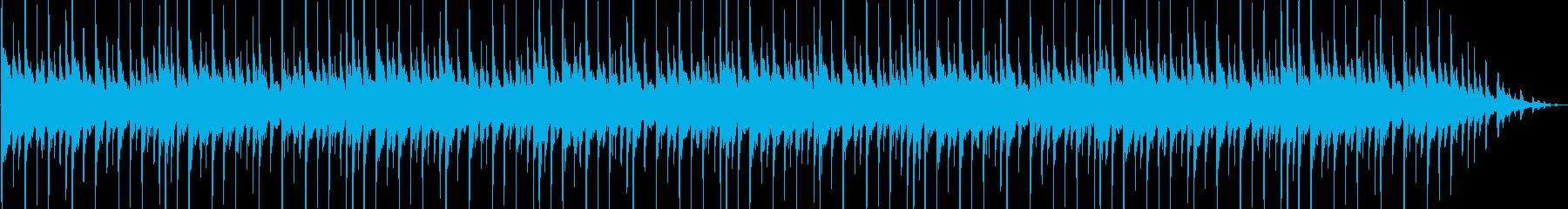 おしゃれで可愛いいエレピが印象的なハウスの再生済みの波形