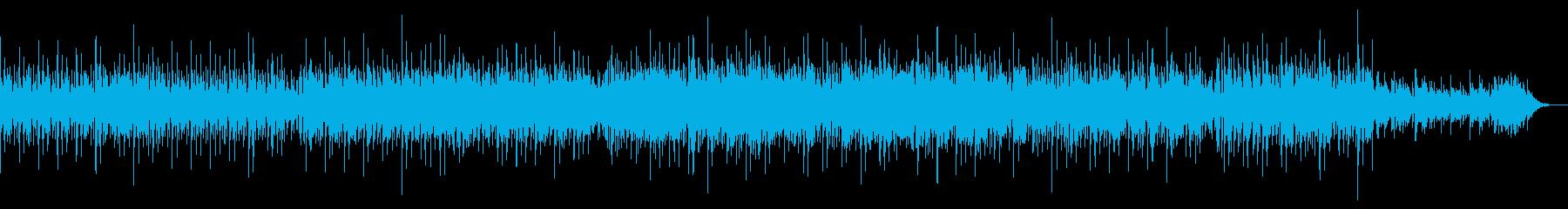 ノスタルジックな美しいテクノBGMの再生済みの波形