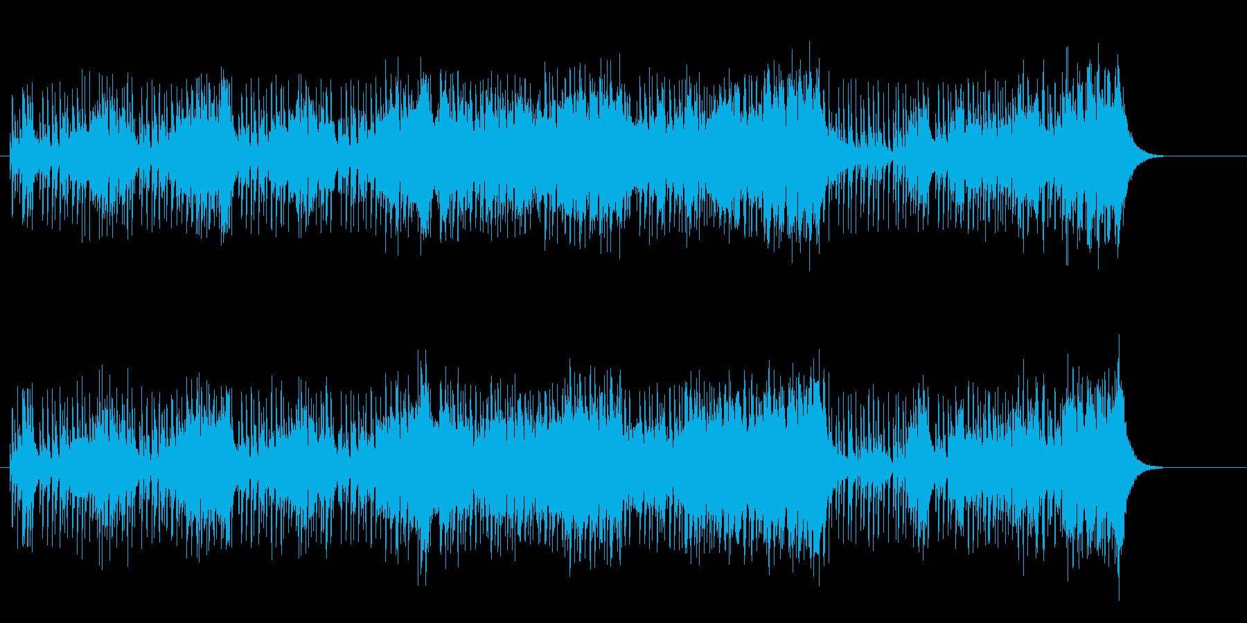 変拍子の緊迫したマイナー・フュージョンの再生済みの波形