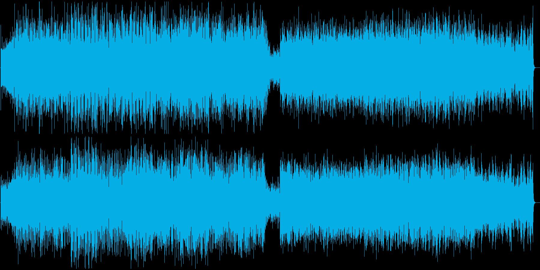 アイリッシュ・ケルト・民族音楽の再生済みの波形