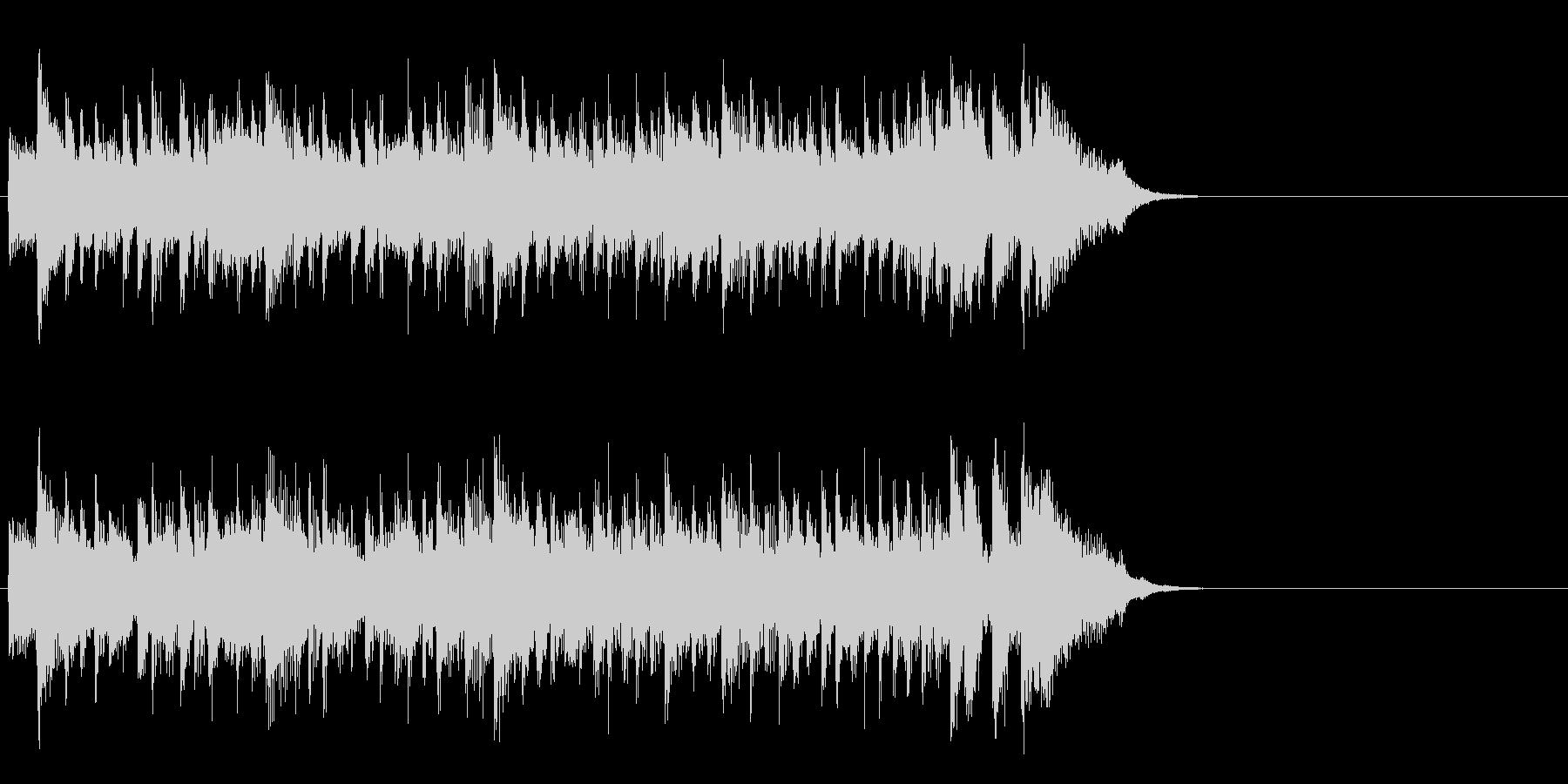 優しいライト・ポップス(イントロ)の未再生の波形