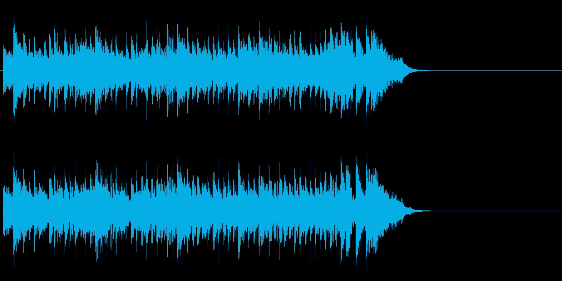優しいライト・ポップス(イントロ)の再生済みの波形