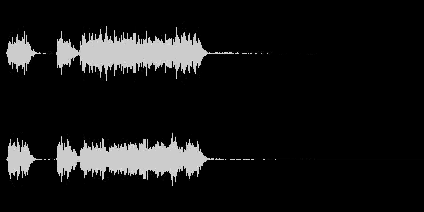 玩具系ファンファーレ-09の未再生の波形