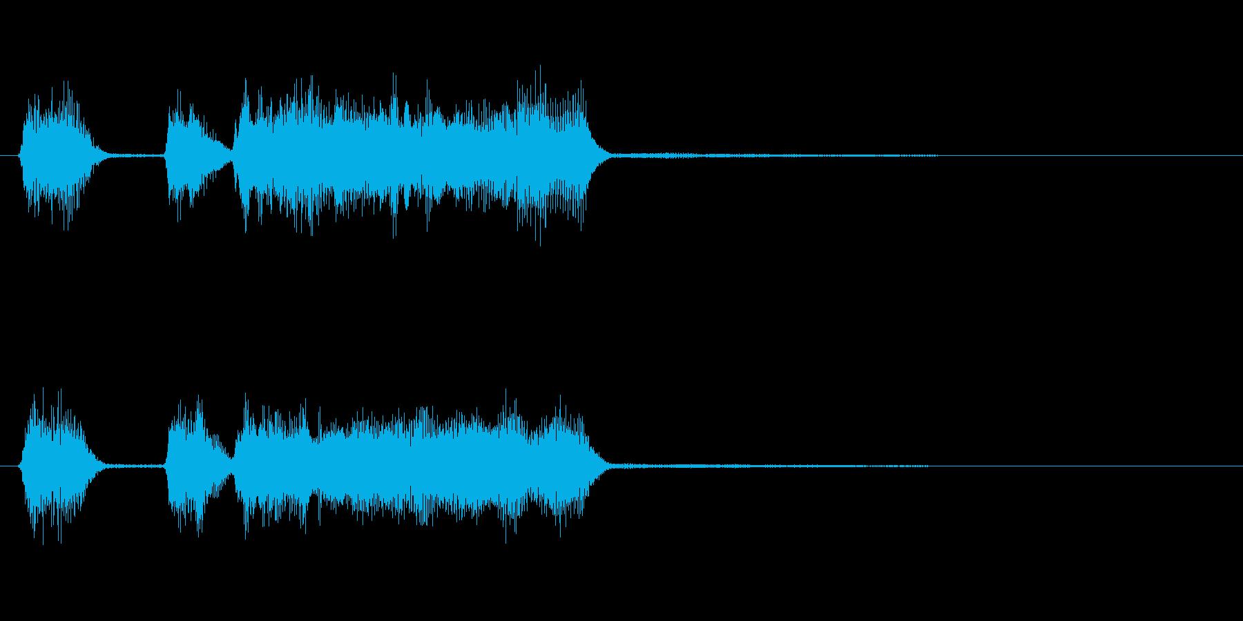 玩具系ファンファーレ-09の再生済みの波形