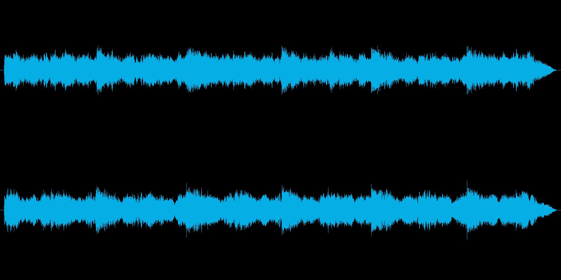 【怪談の先に】不気味ナ雰囲気ノ音の再生済みの波形