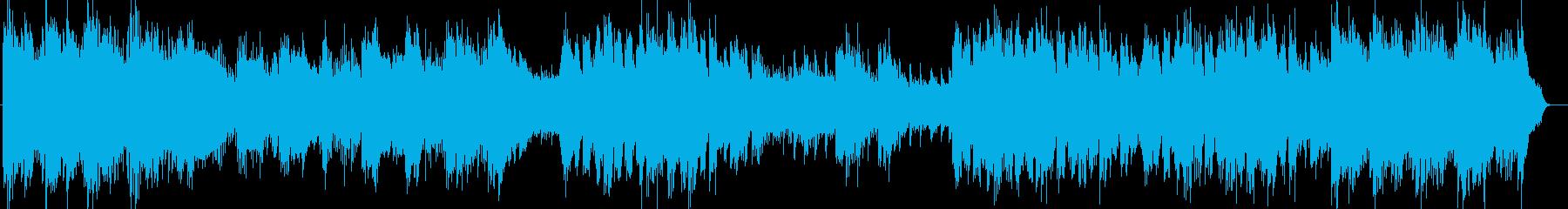 ゆったりとしたピアノがメインのインスト曲の再生済みの波形