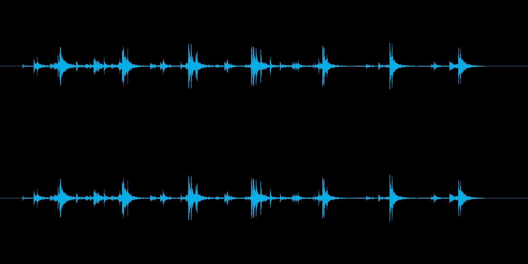【筆箱03-8(振る)】の再生済みの波形