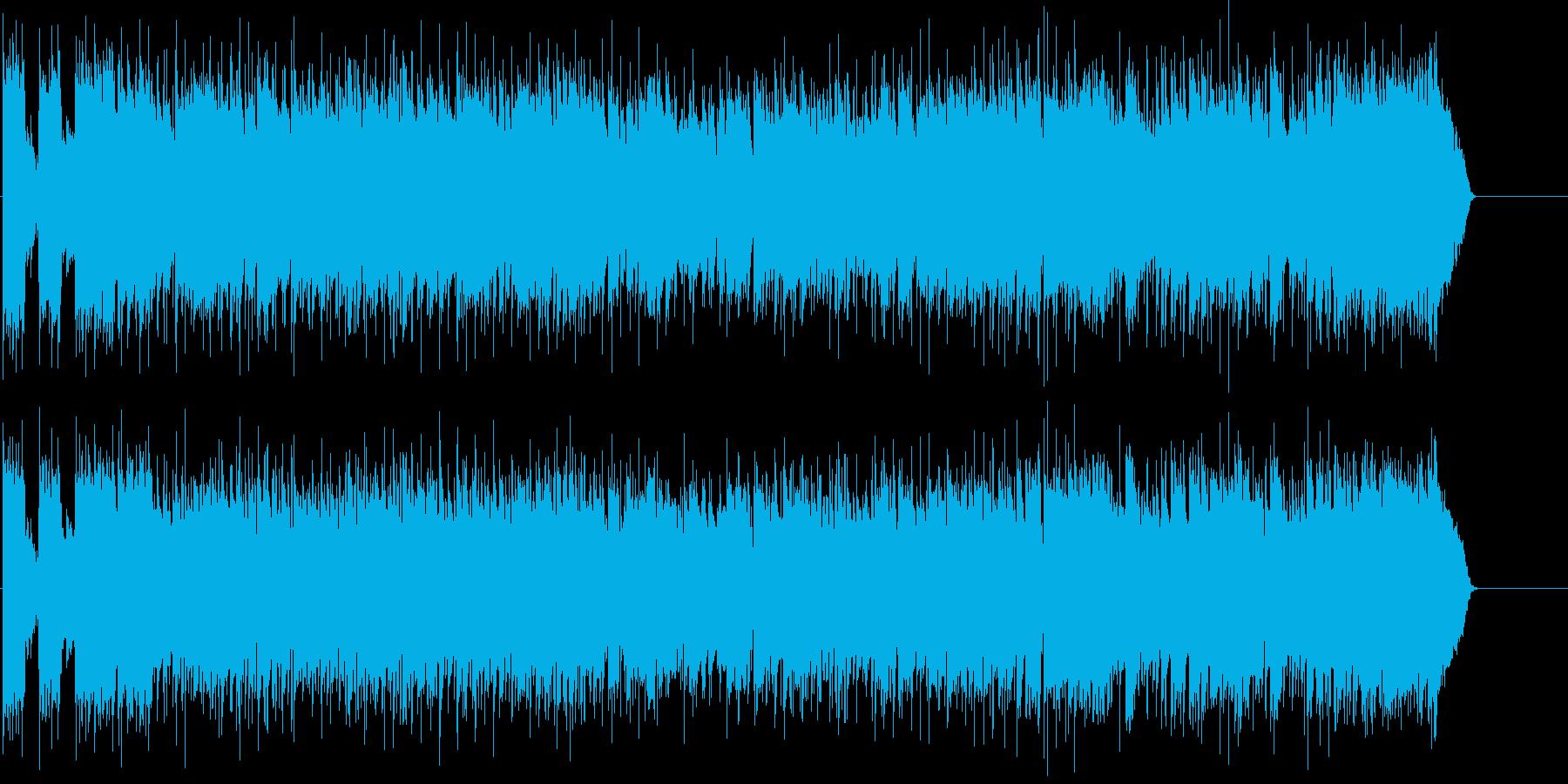 アメリカン・ブルース風ギター・ロックの再生済みの波形
