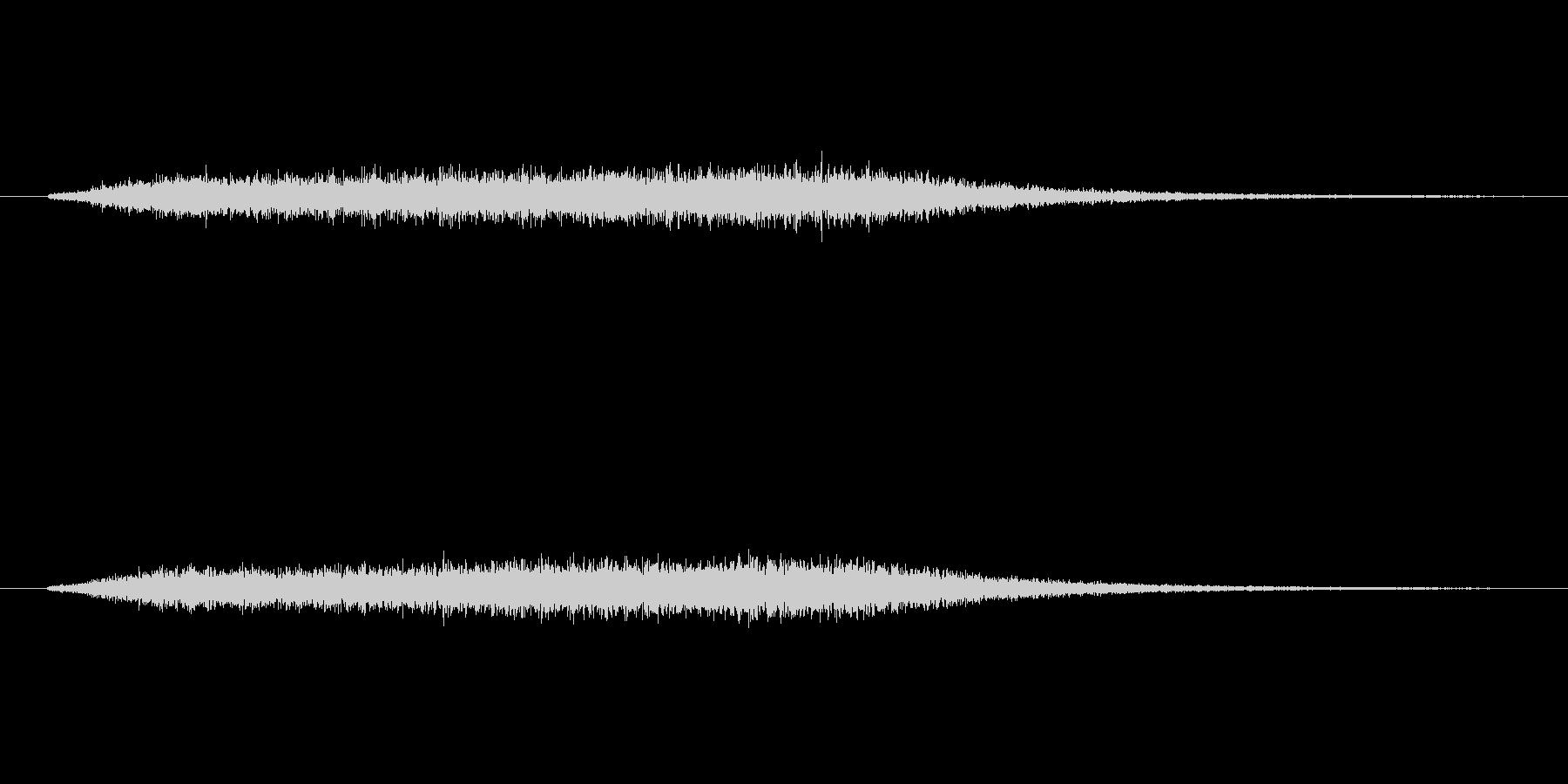 horror noiseよりも残響が多…の未再生の波形