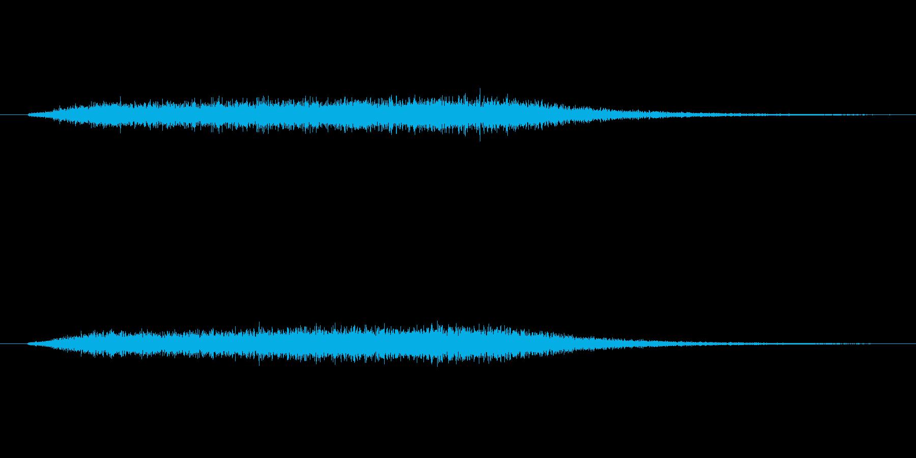 horror noiseよりも残響が多…の再生済みの波形