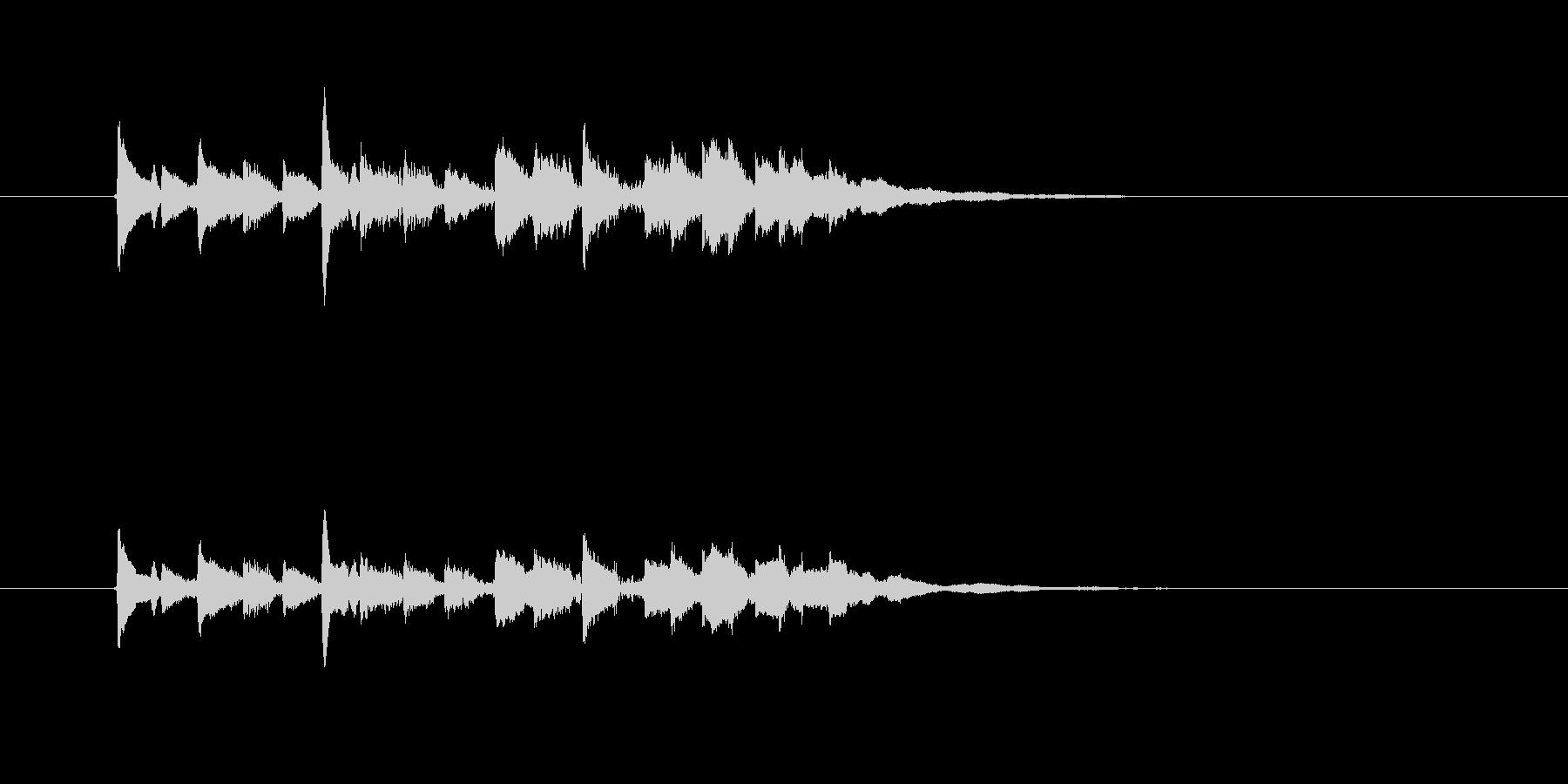 ギター(ラテン風効果音)の未再生の波形