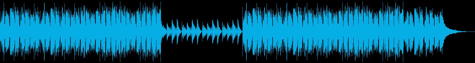 かわいい、ピアノ、コミカル-09の再生済みの波形