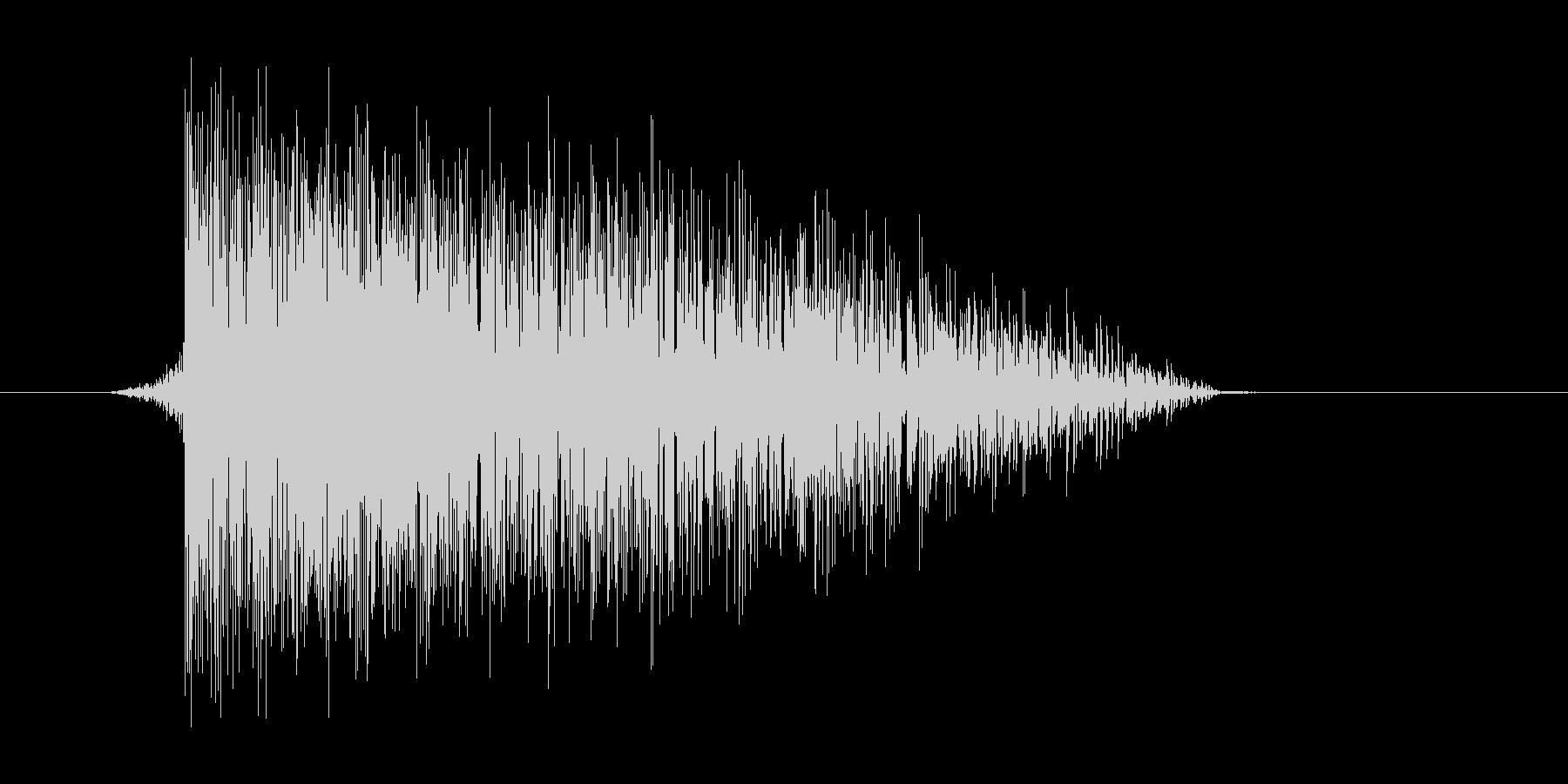 ゲーム(ファミコン風)爆発音_046の未再生の波形