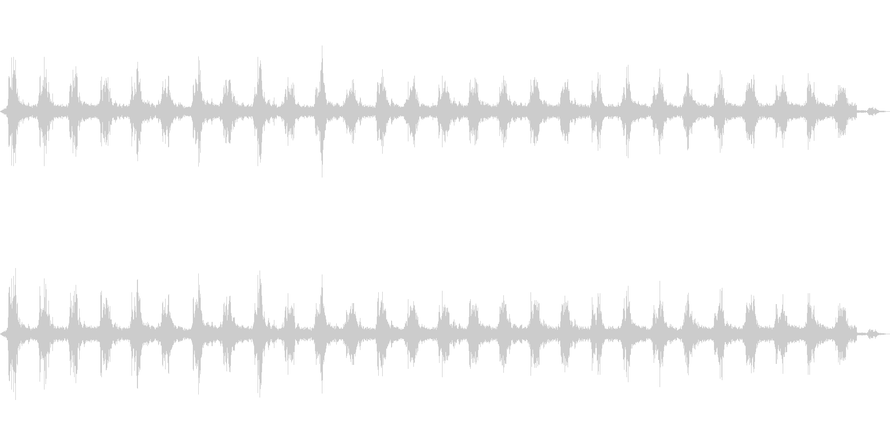 ゴゴ…ゴゴ… 洗濯機の動作音1 ロングの未再生の波形