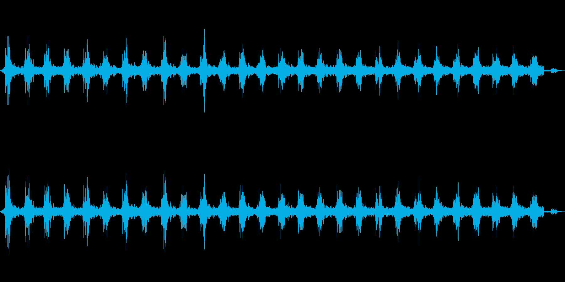 ゴゴ…ゴゴ… 洗濯機の動作音1 ロングの再生済みの波形