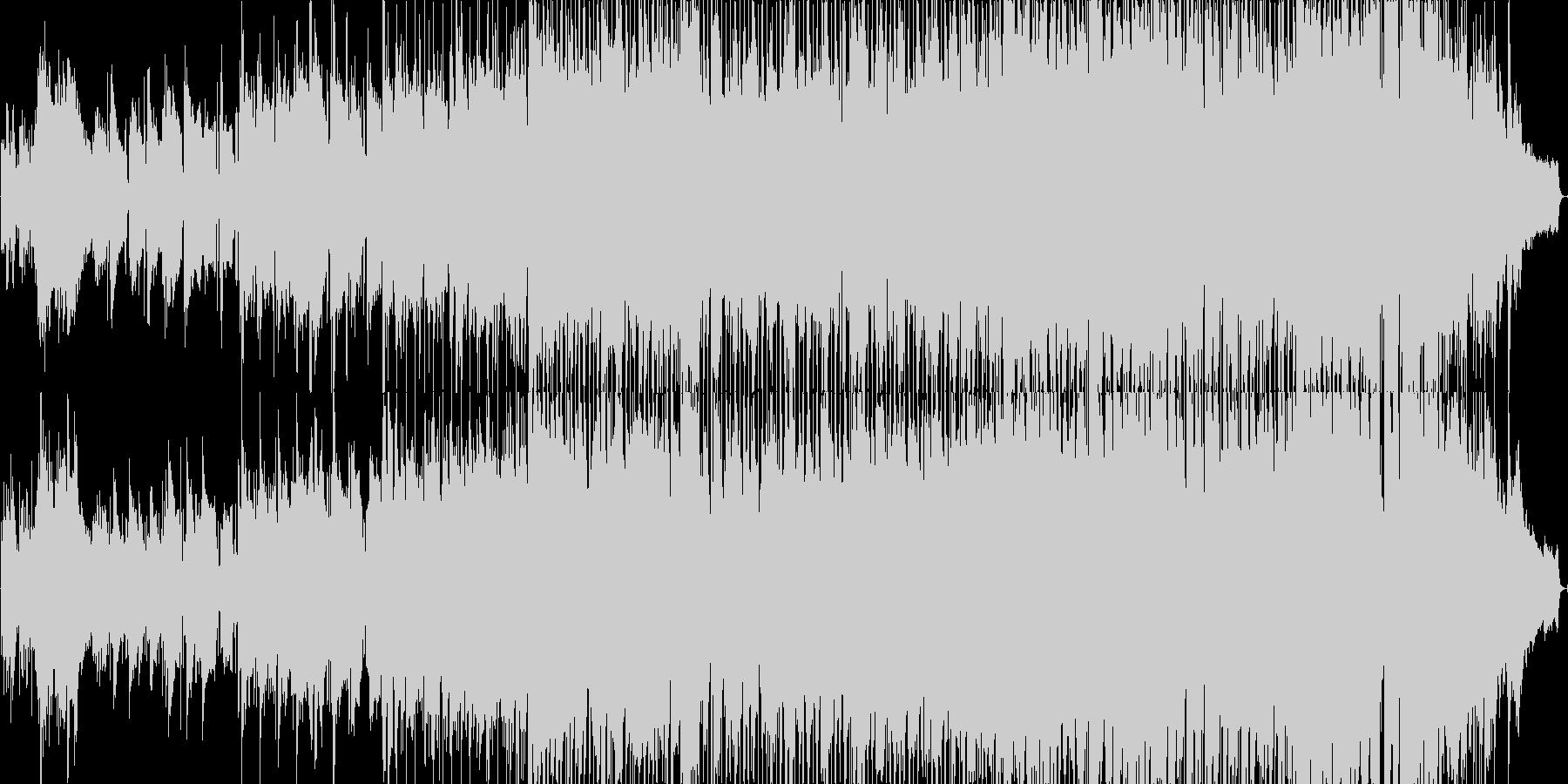 落ち着いた雰囲気のJポップバラードの未再生の波形