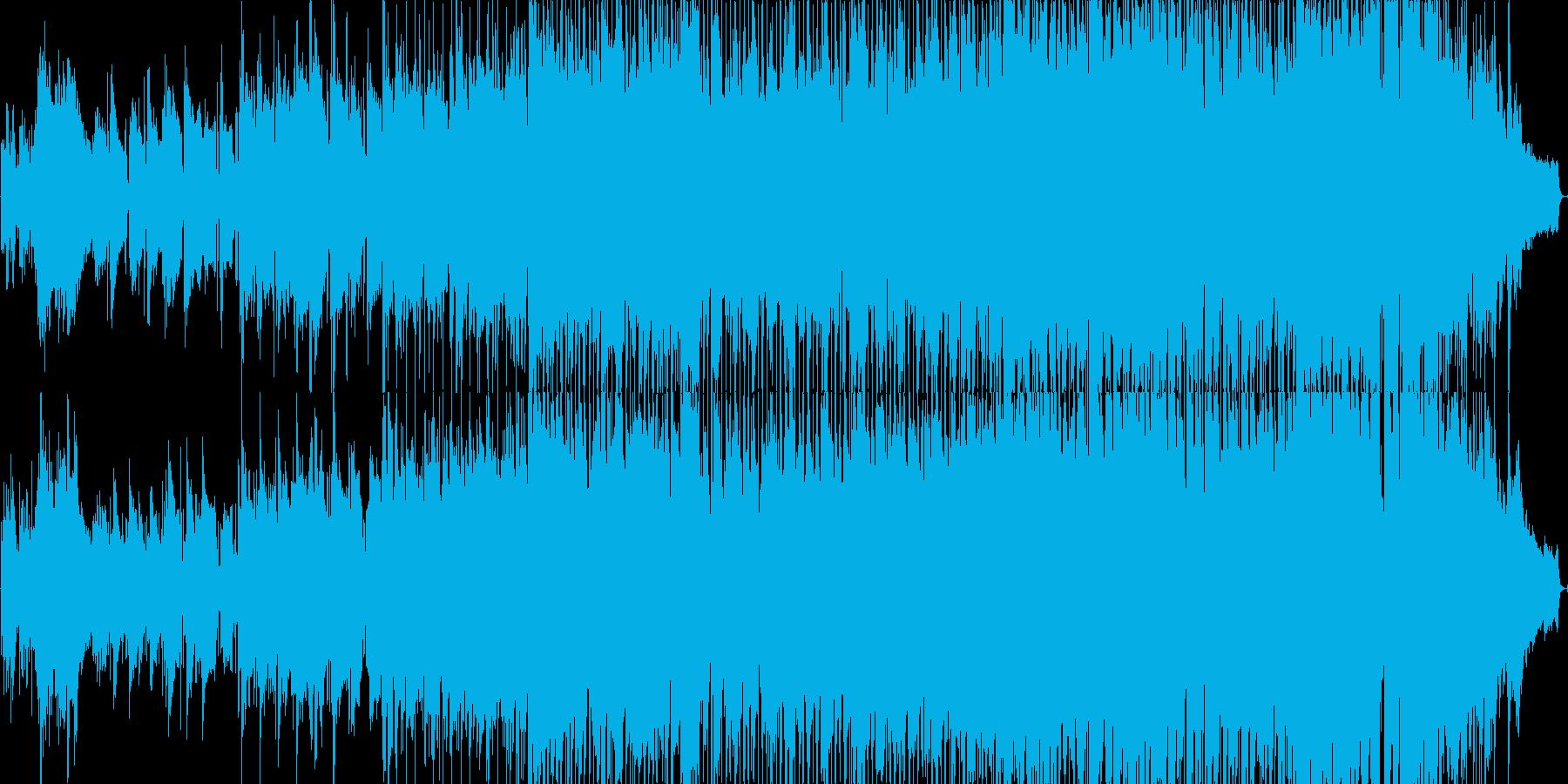 落ち着いた雰囲気のJポップバラードの再生済みの波形