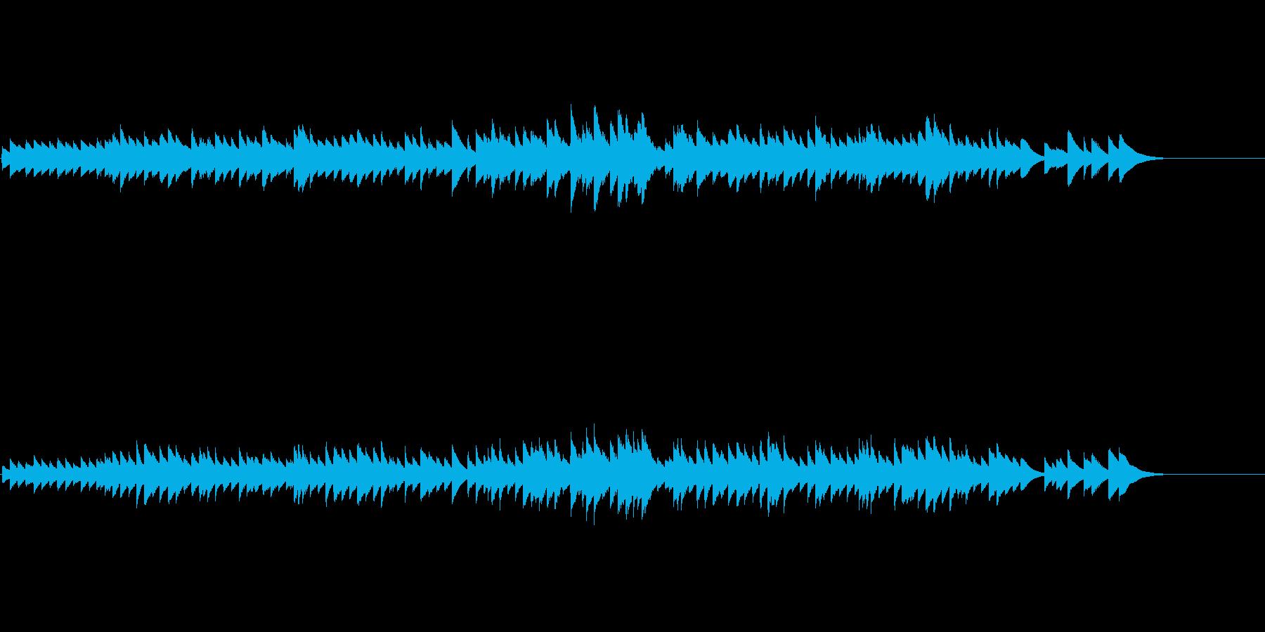 不思議なバレリーナのオルゴールワルツ曲の再生済みの波形