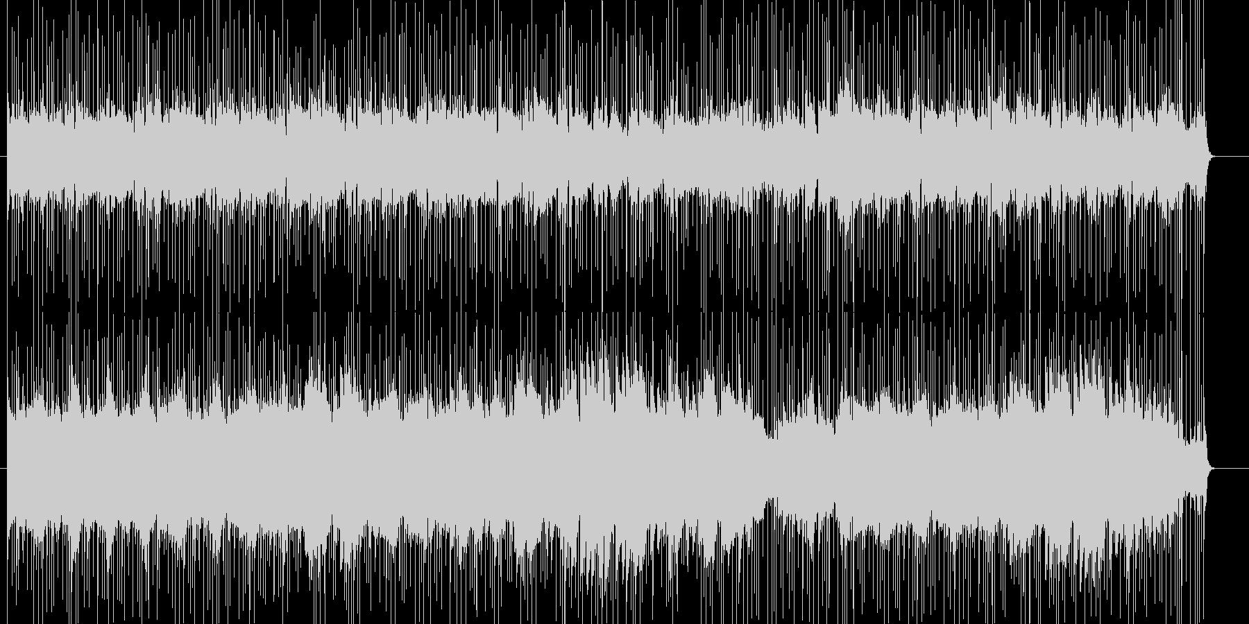 不思議で謎めいた、切ないピアノバラードの未再生の波形