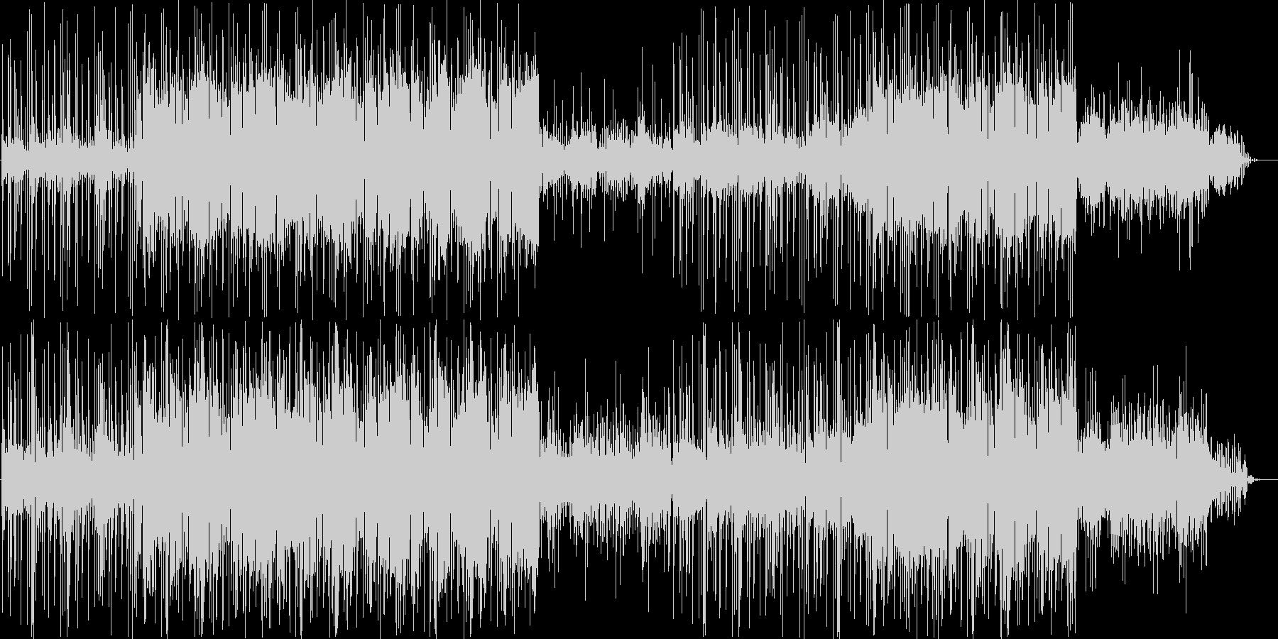 背景に溶け込むミニマルな電子音楽の未再生の波形