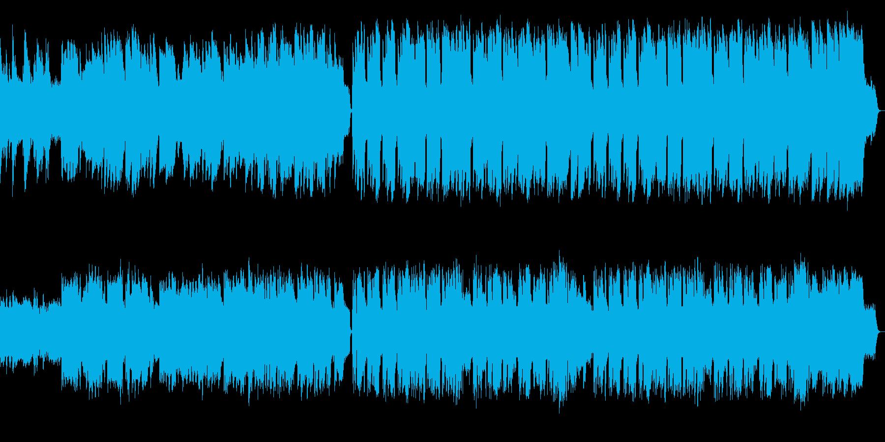 しっとりとしたサックスとピアノのジャズの再生済みの波形