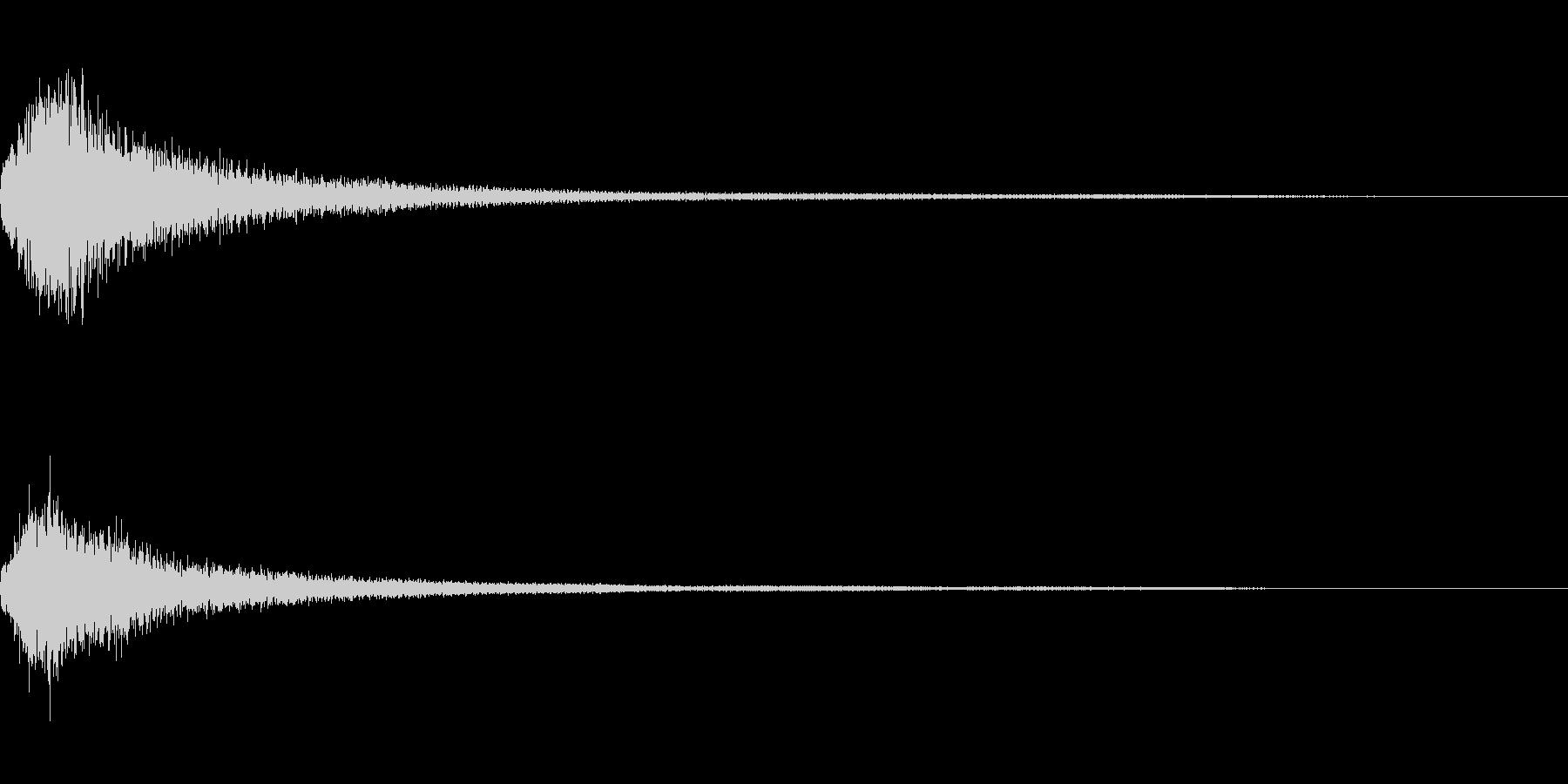 ミステリー系導入音_その6の未再生の波形