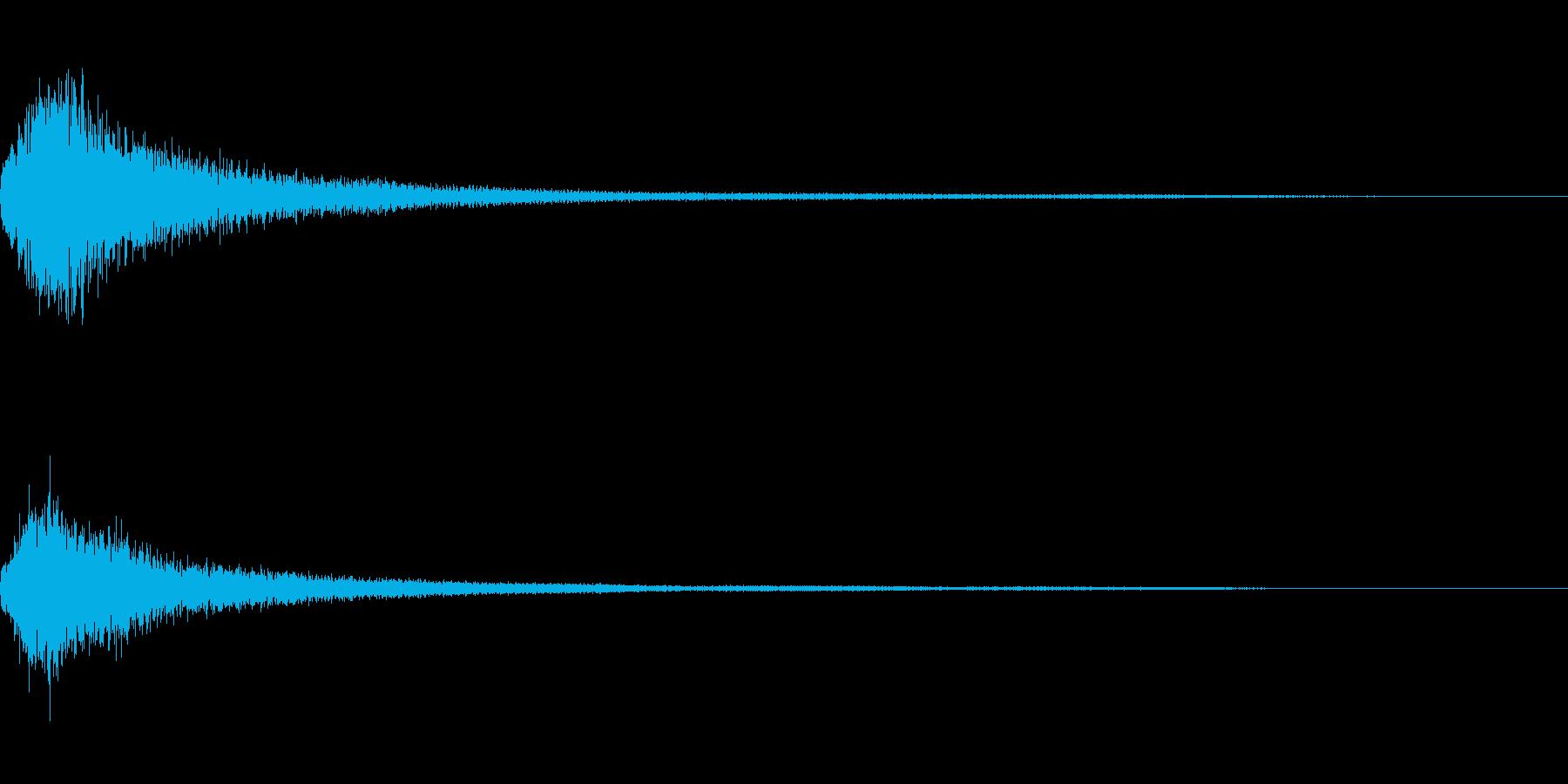 ミステリー系導入音_その6の再生済みの波形