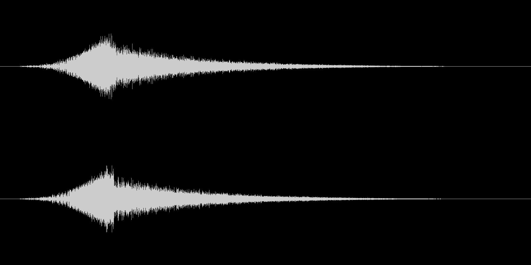 【SE 効果音】SF的な音7の未再生の波形