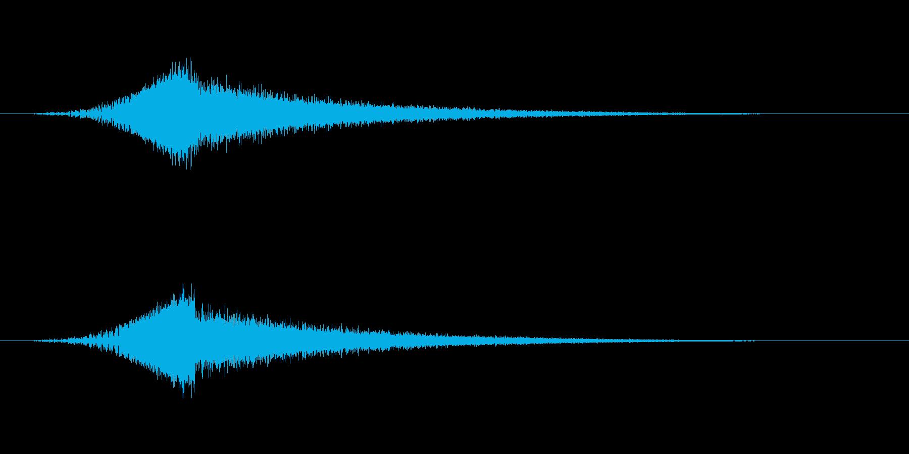 【SE 効果音】SF的な音7の再生済みの波形