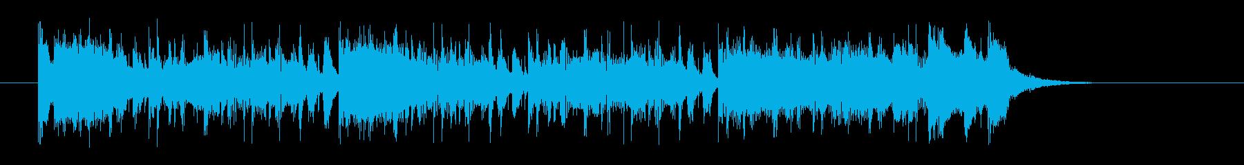 オールドスクールシンセサイザーの再生済みの波形