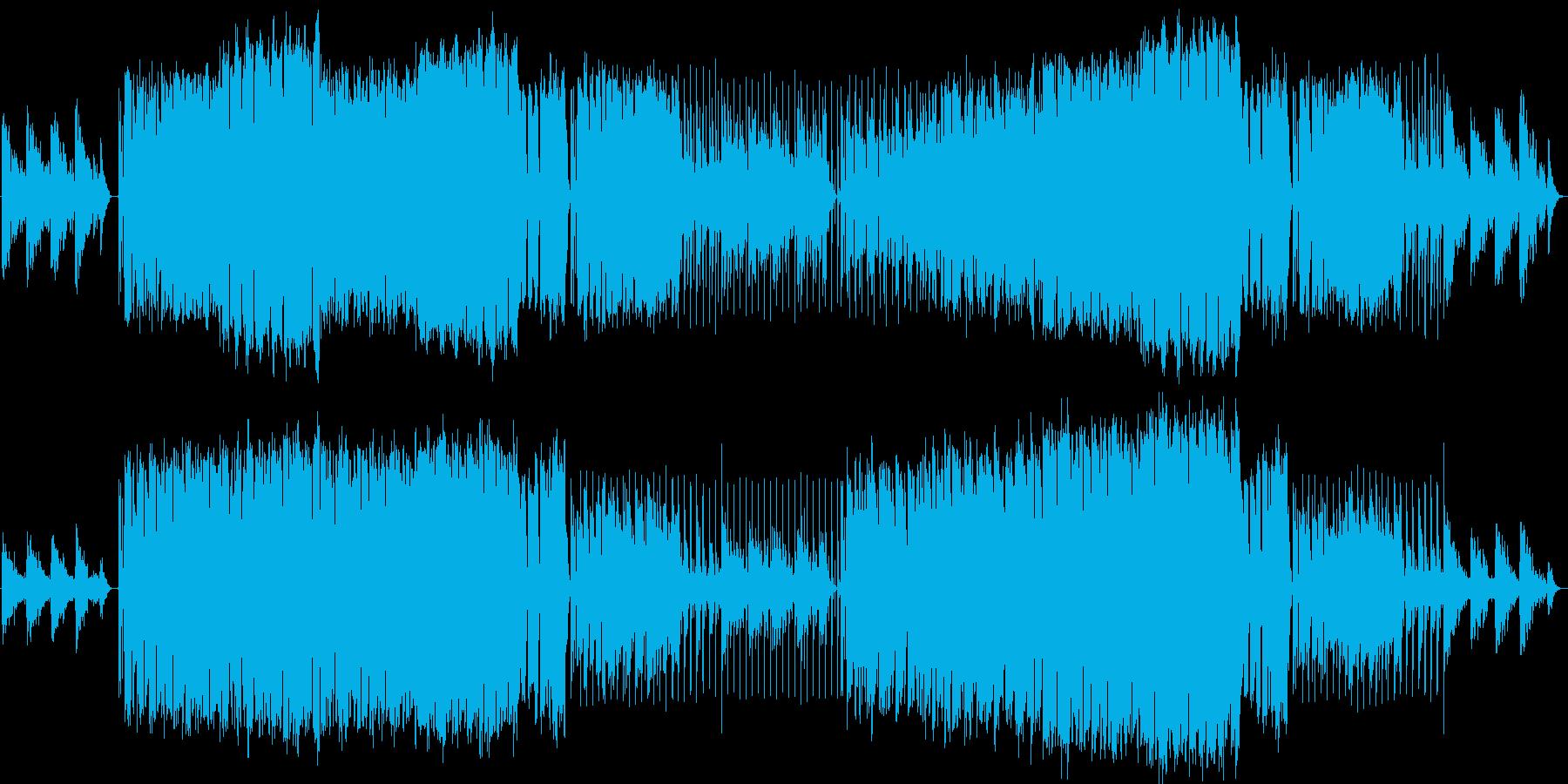 サックスが咽び泣く都会の夜っぽいBGMの再生済みの波形
