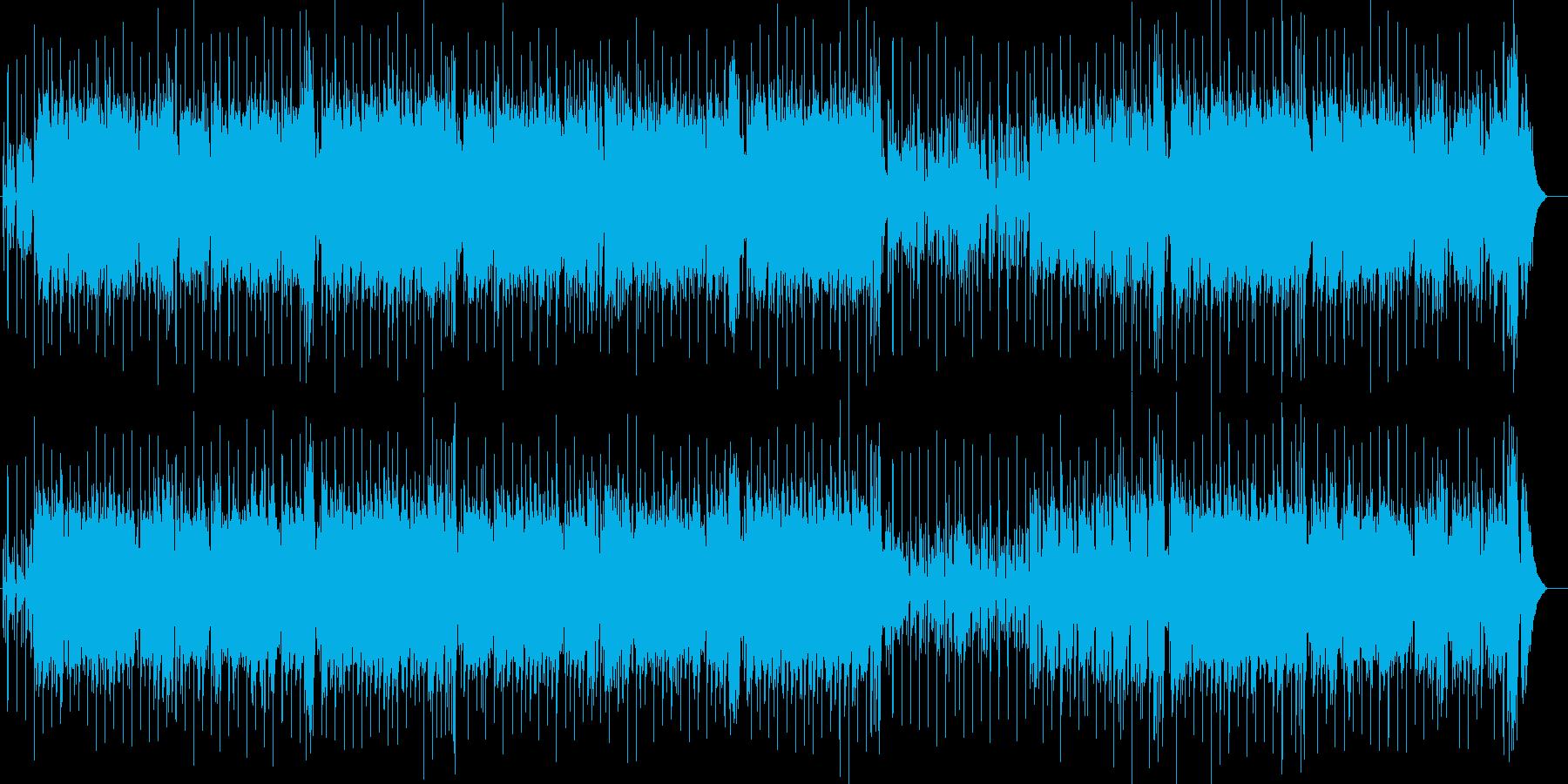 真夏の熱いラテン・フュージョン海ドライブの再生済みの波形