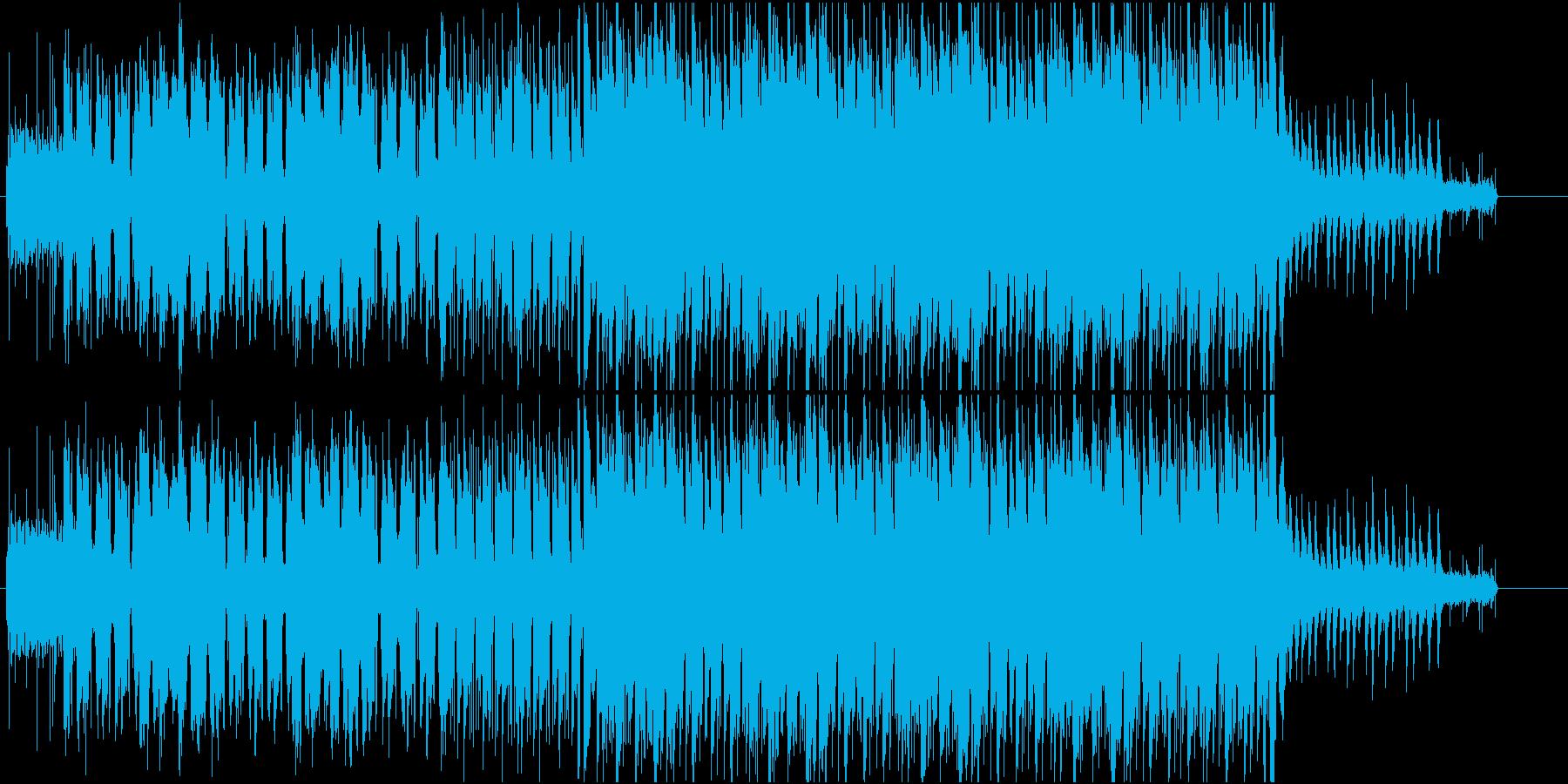 レトロでアナログなちょっぴり切ないワルツの再生済みの波形
