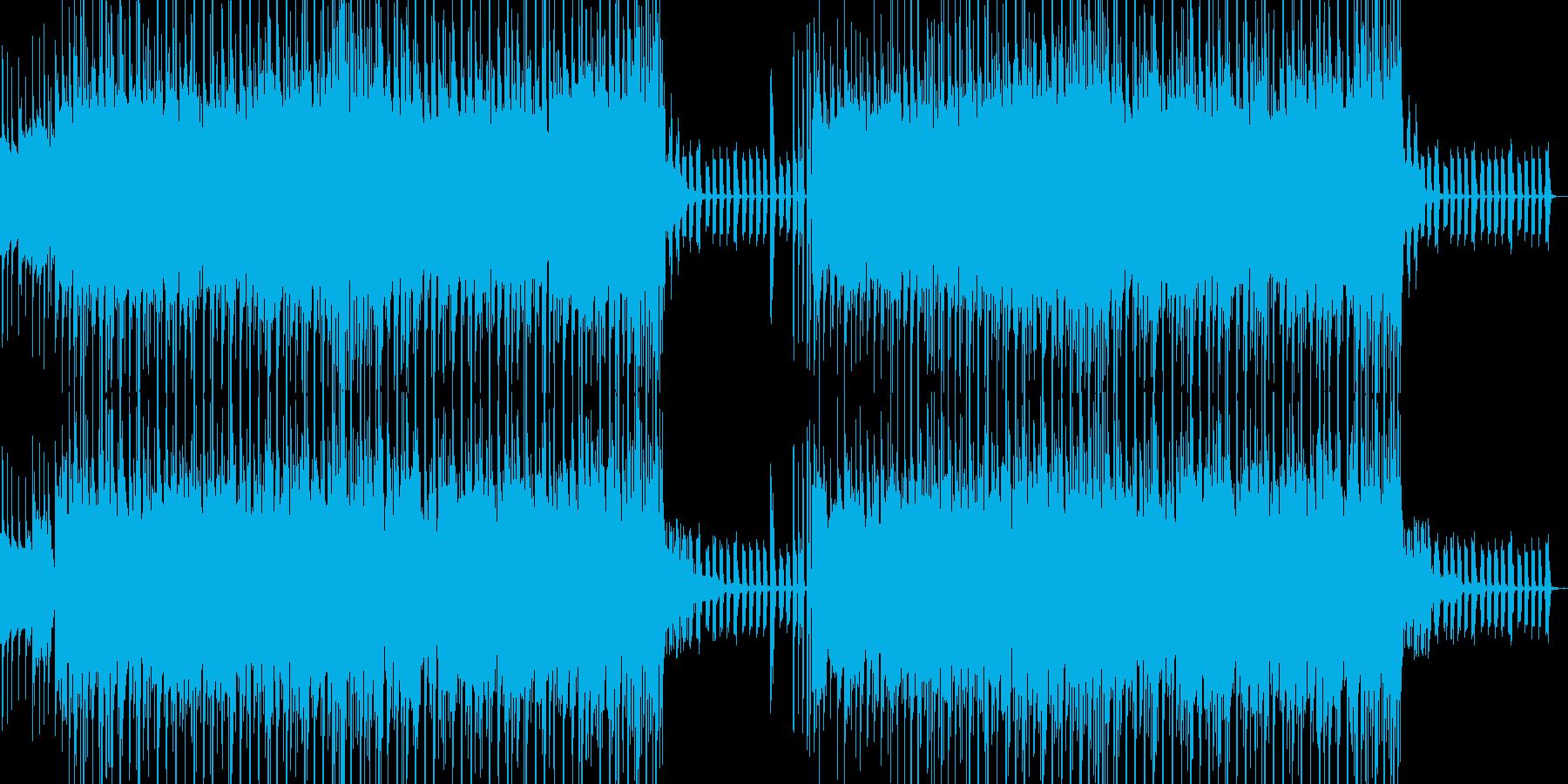 エレクトロ系なサウンドでサイエンス風の再生済みの波形
