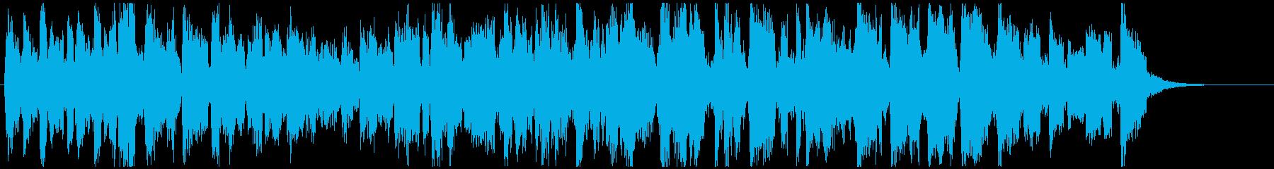CM向け15秒ジャズ■せわしないビバップの再生済みの波形