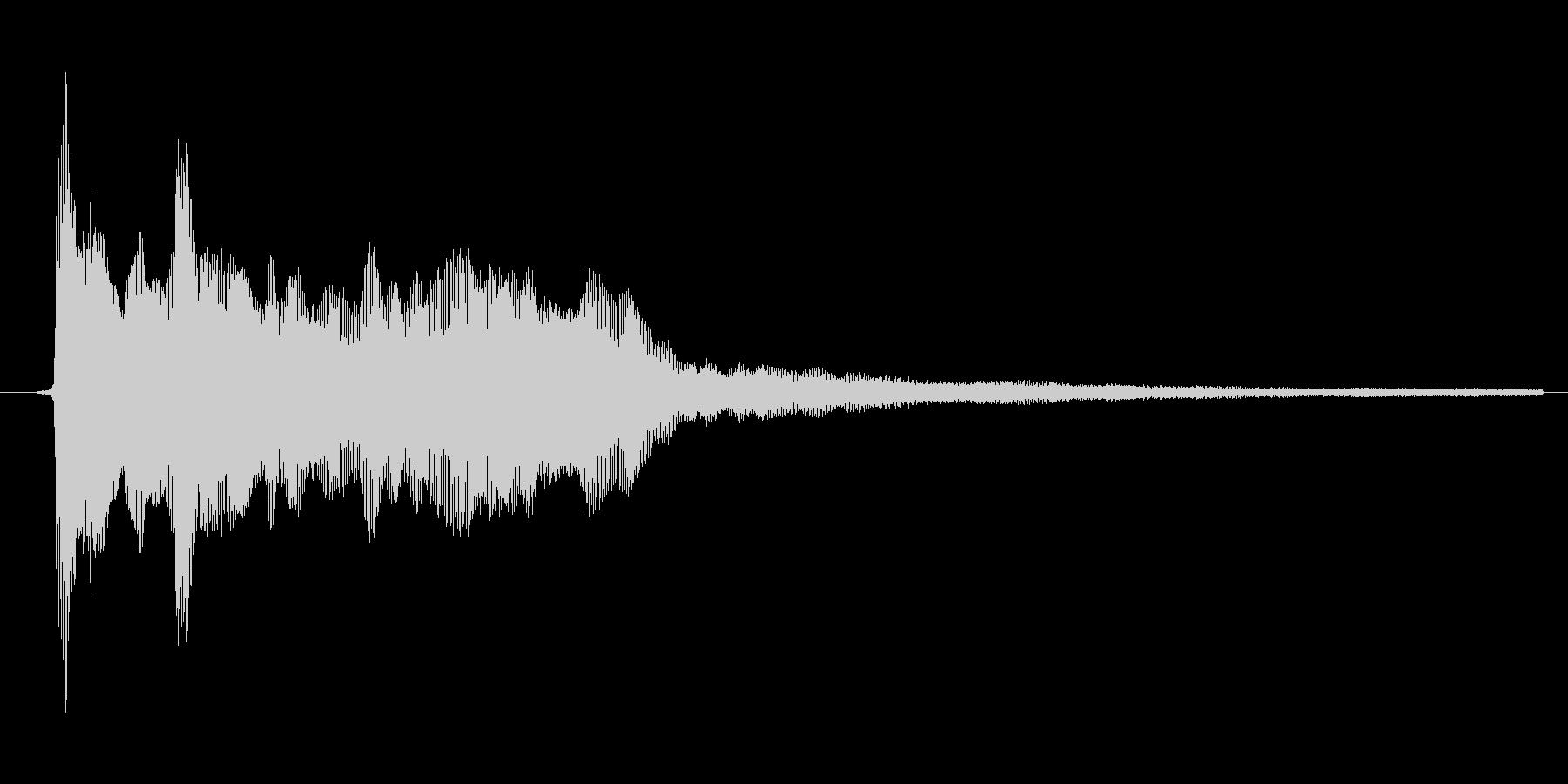 ゲーム、クイズ(ピンポン音)_001の未再生の波形