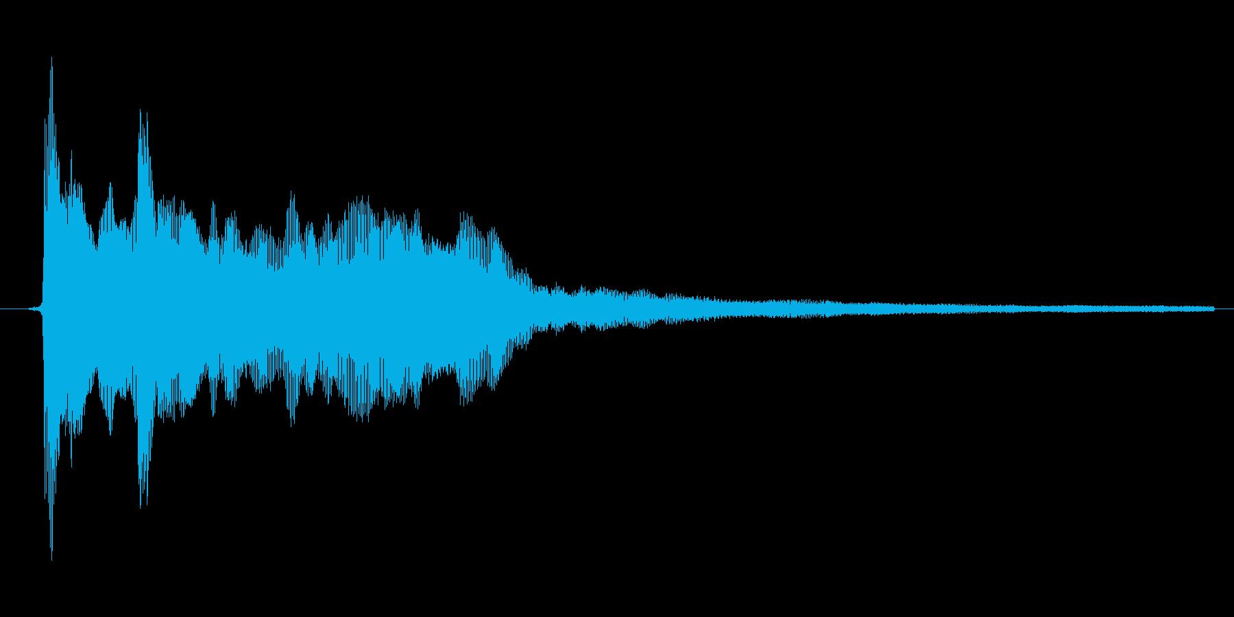 ゲーム、クイズ(ピンポン音)_001の再生済みの波形