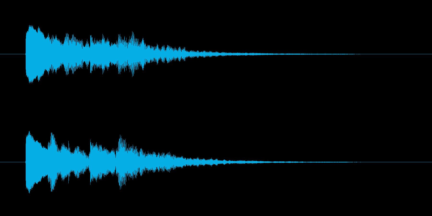 美しい弦楽器のメロディーの再生済みの波形
