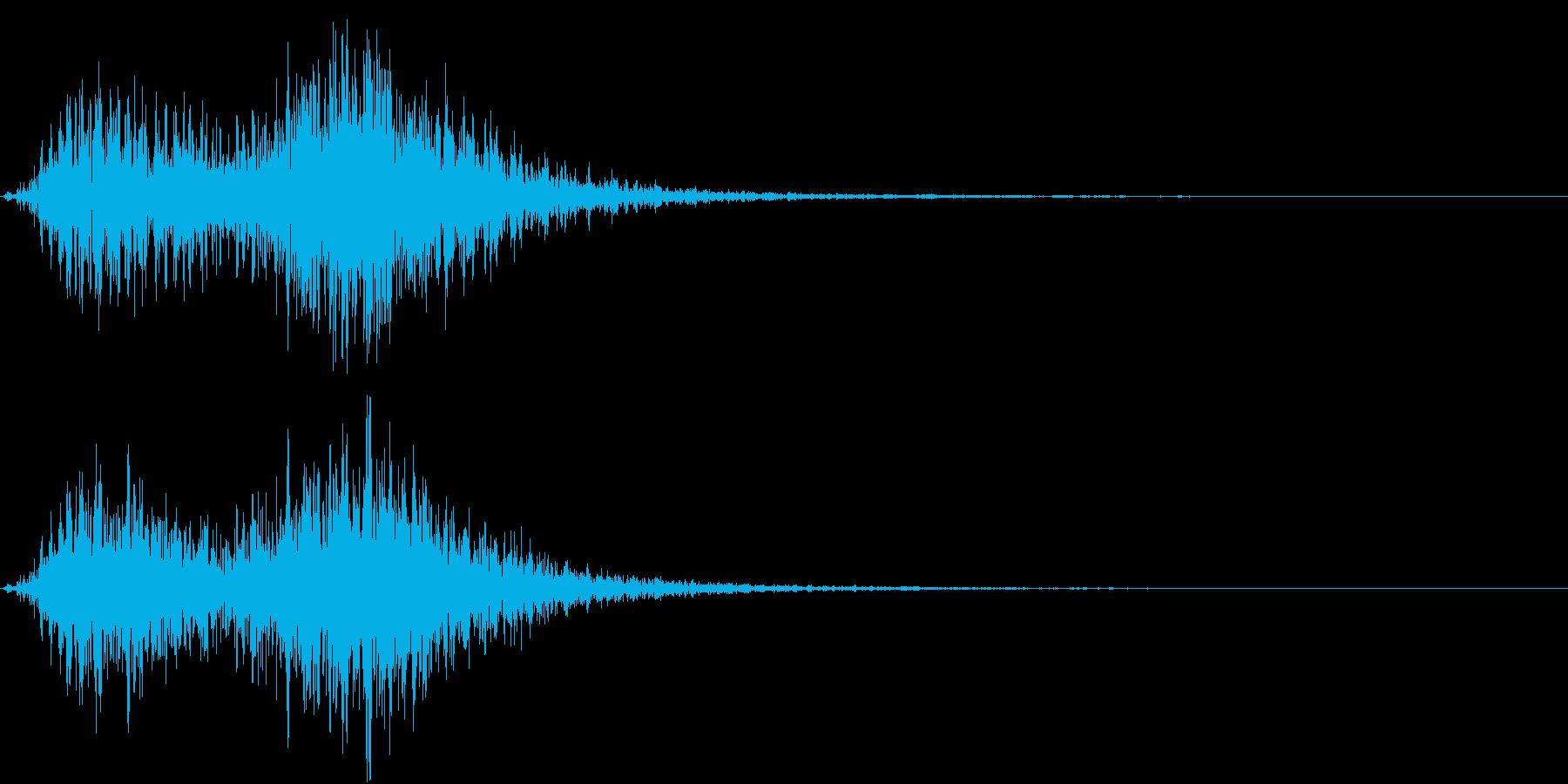 Battle 戦闘エフェクト音 4の再生済みの波形